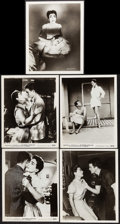 """Movie Posters:Drama, Autumn Leaves & Others Lot (Columbia, 1956). Photos (17) &Fan Club Photo (8"""" X 10""""). Drama.. ... (Total: 18 Items)"""