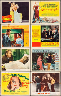 Torch Song & Others Lot (MGM, 1953). Title Lobby Cards (2), Lobby Cards (12), & Lobby Card Set of 8 (11&...