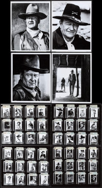 John Wayne & Other Lot (National General, 1970). Photos (4) & Convention Photo Proofs (8) (Approx. 8&quo...