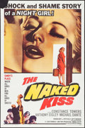 """Movie Posters:Drama, The Naked Kiss (Allied Artists, 1964). One Sheet (27"""" X 41"""") &Lobby Cards (2) (11"""" X 14""""). Drama.. ... (Total: 3 Items)"""