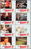 "Movie Posters:Crime, Brannigan (United Artists, 1975). Lobby Card Set of 8 (11"" X 14"").Crime.. ... (Total: 8 Items)"