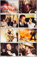 """Movie Posters:Thriller, The Hindenburg (Universal, 1975). Mini Lobby Card Set of 8 & Photos (17) (8"""" X 10""""). Thriller.. ... (Total: 25 Items)"""