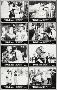 """Love and Death (United Artists, 1975). Lobby Card Set of 8 (11"""" X 14""""). Comedy. ... (Total: 8 Items)"""