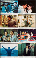 "Movie Posters:Academy Award Winners, Rocky (United Artists, 1977). Mini Lobby Card Set of 8 (8"" X 10"").Academy Award Winners.. ... (Total: 8 Items)"
