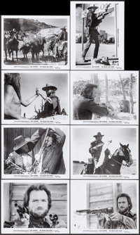 "The Outlaw Josey Wales (Warner Brothers, 1976). Photo Set of 8 (8"" X 10"") Set B. Western. ... (Total: 8 Items)"
