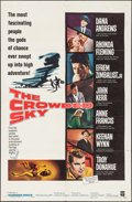 """Movie Posters:Drama, The Crowded Sky & Other Lot (Warner Brothers, 1960). One Sheets (2) (27"""" X 41"""") & Lobby Cards (2) (11"""" X 14""""). Drama.. ... (Total: 4 Items)"""