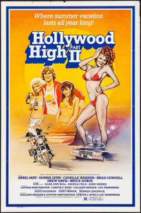 "Hollywood High Part II & Others Lot (Lone Star, 1981). One Sheets (2) (27"" X 41"") & Photo (8&q..."