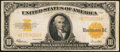 Large Size:Gold Certificates, Fr. 1173 $10 1922 Gold Certificate Very Fine.. ...