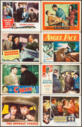 """Movie Posters:Film Noir, The Asphalt Jungle & Others Lot (MGM, 1950). Lobby Cards (130) (11"""" X 14""""). Film Noir.. ... (Total: 130 Items)"""