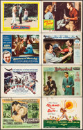 Movie Posters:Adventure, Istanbul & Others Lot (Universal International, 1957). TitleLobby Cards (3), Lobby Card Sets of 8 (3 Sets), & Lobby Cards(... (Total: 56 Items)