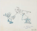 Animation Art:Production Drawing, Sport Goofy Animation Drawings Signed by Mark Kausler Groupof 8 (Walt Disney, 1987)....