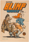 Silver Age (1956-1969):Alternative/Underground, Gothic Blimp Works #2 (East Village Other, 1969) Condition:VG/FN....