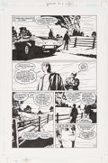 Original Comic Art:Panel Pages, Michael Lark The Invisibles V3#3 Panel Page #11 Original Art (DC, 2000). ...