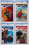 Modern Age (1980-Present):Superhero, All-Star Superman #1, 2, and 4 CGC-Graded Group of 4 (DC, 2006) CGCNM/MT 9.8 White pages.... (Total: 4 Comic Books)