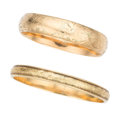 Estate Jewelry:Bracelets, Gold Bracelets. . ... (Total: 2 Items)