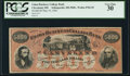 Obsoletes By State:Ohio, Cleveland, OH - Union Business College Bank of Cleveland $5000 May10, 1866 Wolka 0782-05. ...