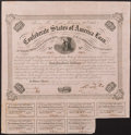 Confederate Notes:Group Lots, Ball 212 Cr. 120 $100 Bond 1863 Fine.. ...