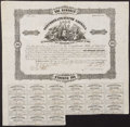 Confederate Notes:Group Lots, Ball 92 Cr. 39 $100 Bond 1862 Fine.. ...