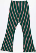 Basketball Collectibles:Uniforms, Mid 1970's Milwaukee Bucks Game Worn Pinstriped Warmup Pants. ...