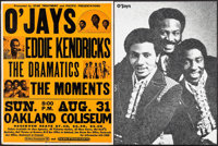 The O'Jays, Eddie Kendricks, The Dramatics, and The Moments at the Oakland Coliseum & Other Lot (Star Treatment...
