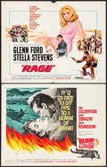 """Movie Posters:Crime, Woman of Straw & Others Lot (United Artists, 1964). Half Sheets(4) (22"""" X 28""""). Crime.. ... (Total: 4 Items)"""