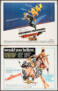 """Movie Posters:Action, The Liquidator & Others Lot (MGM, 1965). Half Sheets (6) (22"""" X28""""). Action.. ... (Total: 6 Items)"""