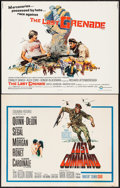 """Movie Posters:War, Lost Command & Others Lot (Columbia, 1966). Half Sheets (8)(22"""" X 28""""). War.. ... (Total: 8 Items)"""