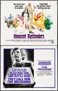 """The Mechanic & Others Lot (United Artists, 1972). Half Sheets (4) (22"""" X 28""""). Action. ... (Total: 4 I..."""