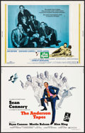 """Movie Posters:Crime, The Anderson Tapes & Others Lot (Columbia, 1971). Half Sheets (7) (22"""" X 28""""). Crime.. ... (Total: 7 Items)"""