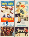 "Movie Posters:Comedy, Pardners & Others Lot (Paramount, 1956). Inserts (4) (14"" X36""). Comedy.. ... (Total: 4 Items)"
