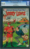 Adventures of Jerry Lewis #95 - BRAD SQUARED COLLECTION (DC, 1966) CGC NM 9.4 Off-white to white pages