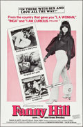 "Movie Posters:Sexploitation, Fanny Hill & Others Lot (Cinemation Industries, 1969). OneSheets (4) (27"" X 41"" & 27"" X 42""). Sexploitation.. ... (Total:4 Items)"