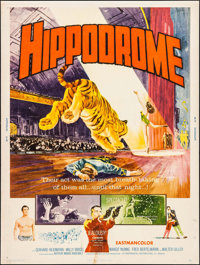 """Hippodrome & Others Lot (Continental, 1961). Posters (8) (30"""" X 40""""). Drama. ... (Total: 8 Items)"""