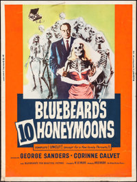 "Bluebeard's Ten Honeymoons & Others Lot (Allied Artists, 1960). Posters (3) (30"" X 40""). Mystery. ... (Tot..."