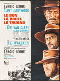 "Movie Posters:Western, The Good, the Bad and the Ugly (United Artists, 1968). FrenchAffiche (22.75"" X 30.5""). Western.. ..."