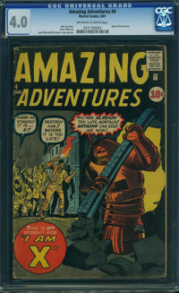 Amazing Adventures #4 (Marvel, 1961) CGC VG 4.0 Off-white to white pages