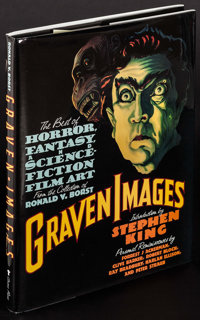 "Graven Images by Ronald V. Borst (Grove Press, 1992). Autographed Hardcover Book (240 Pages, 9.25"" X 12.25"" X..."