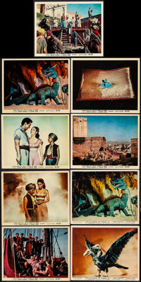 The 7th Voyage of Sinbad (Columbia, 1958). Autographed Color Photo, Color Photos (6) & British Front of House Co...