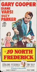 """Movie Posters:Drama, 10 North Frederick & Other Lot (20th Century Fox, 1958). One Sheets (2) (27"""" X 41"""") & Three Sheet (41"""" X 79""""). Drama.. ... (Total: 3 Items)"""