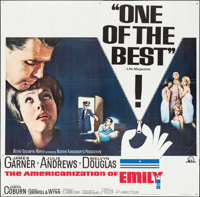 """The Americanization of Emily (MGM, 1964). Six Sheet (79"""" X 80""""). Comedy"""