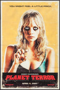 "Movie Posters:Horror, Planet Terror (Dimension, 2007). Mini Poster (12"" X 18"") SSAdvance. Horror.. ..."