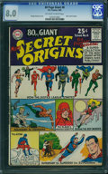 Silver Age (1956-1969):Superhero, 80 Page Giant 8 Secret Origins (DC, 1965) CGC VF 8.0 Off-white to white pages.