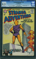 Silver Age (1956-1969):Science Fiction, Strange Adventures #153 (DC, 1963) CGC VG+ 4.5 Off-white to white pages.