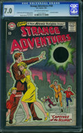 Silver Age (1956-1969):Science Fiction, Strange Adventures #160 (DC, 1964) CGC FN/VF 7.0 Off-white to white pages.