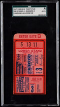 Baseball Collectibles:Tickets, 1949 World Series Game 3 Ticket Stub - SGC Authentic, Yankees vsDodgers....