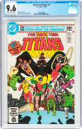 Modern Age (1980-Present):Superhero, New Teen Titans #1 (DC, 1980) CGC NM+ 9.6 Off-white to whitepages....