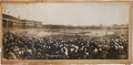 Baseball Collectibles:Photos, 1907 Chicago Cubs vs. Detroit Tigers World Series PanoramicPhotograph, PSA/DNA Type 1....