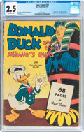 Golden Age (1938-1955):Cartoon Character, Four Color #29 Donald Duck (Dell, 1943) CGC GD+ 2.5 Off-whitepages....