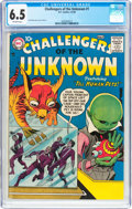 Silver Age (1956-1969):Science Fiction, Challengers of the Unknown #1 (DC, 1958) CGC FN+ 6.5 Off-whitepages....