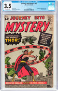Silver Age (1956-1969):Superhero, Journey Into Mystery #83 (Marvel, 1962) CGC VG- 3.5 Off-whitepages....